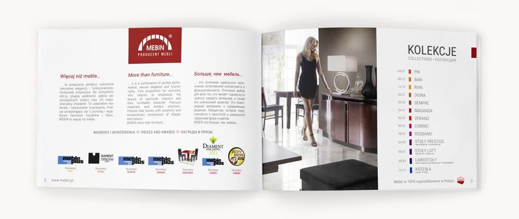 Arts Meritum mebin katalog reklamowy 2
