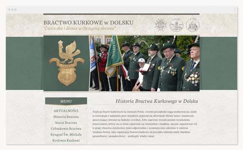 Bractwo Kurkowe – witryna stowarzyszenia