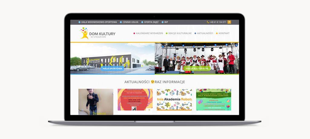 arts meritum dom kultury steszew strona www internetowa serwis