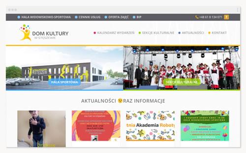 Dom Kultury w Stęszewie – witryna placówki