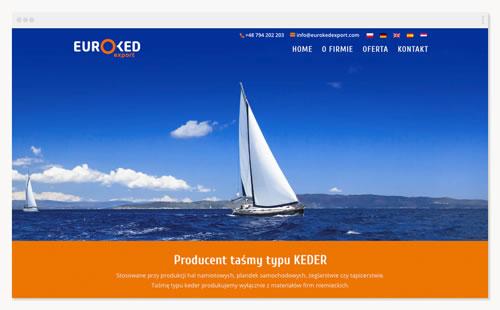 Euroked-export – strona firmowa