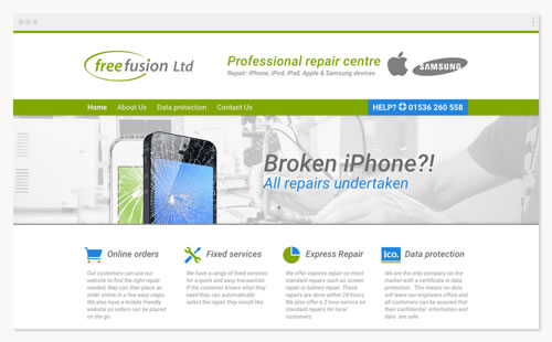 Free Fusion – witryna firmowa