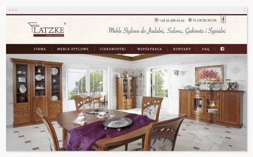 Latzke – witryna firmowa