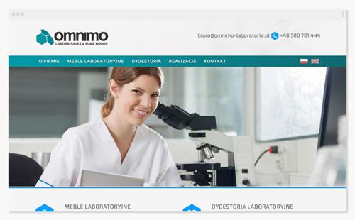 Omnimo – witryna firmowa